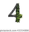 Stone foliage number 4 43354896