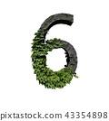 Stone foliage number 6 43354898