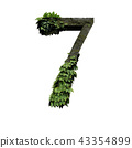 Stone foliage number 7 43354899