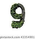 Stone foliage number 9 43354901