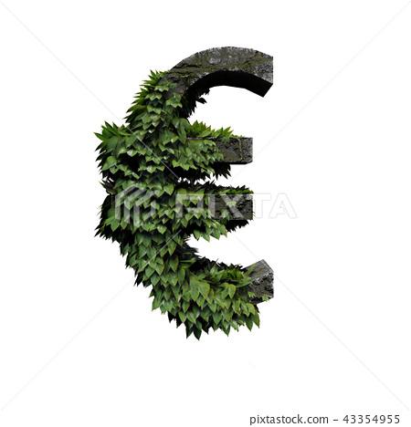 Stone Foliage Symbol Euro