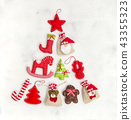 Christmas tree ornaments decorations gift bags 43355323