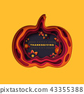 thanksgiving, pumpkin, autumn 43355388