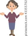 female, females, lady 43355702