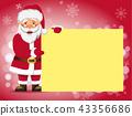 santa, christmas, banner 43356686