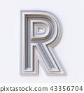 r, frame, white 43356704