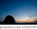 Evening view of the beach of Izumo Inasa 43362584