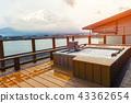 Japanese open air onsen 43362654