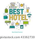 Best Hotel Service - Line Concept 43362730