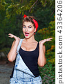 Pin-up girl surprise 43364206