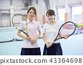 網球女性 43364698