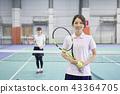 網球女性 43364705