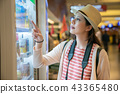 buying things from vending machine. 43365480