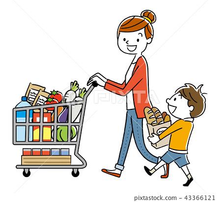 부모 : 슈퍼마켓, 쇼핑, 라이프 스타일 43366121