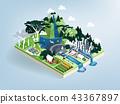 vector of renewable energy future world concept 43367897