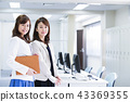 Business woman meeting team office businessman 43369355
