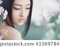woman asian sakura 43369784