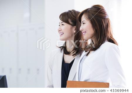 女商人會議隊辦公室女商人辦公室偶然 43369944