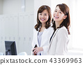 Business Woman Meeting Team Office Business Woman Office Casual 43369963