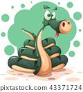 snake, character, serpent 43371724