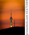 타워, 황혼, 해질녘 43373364