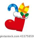 크리스마스 부츠 43375659