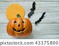 Jack O Lantern Bats  moon 43375800