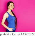 female, portrait, sportswear 43378077