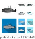submarine,yacht,boat 43378449