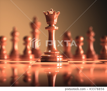Queen Chess Game Board 43378856
