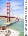 Golden Gate bridge 43381745
