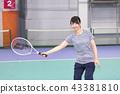 體育健身網球 43381810