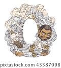 สัตว์ประหลาด, อสูรกาย,ศิลปะ,เอเชีย 43387098
