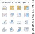 waterproof water leak 43389323