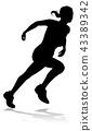 奔跑者 跑者 跑步的人 43389342