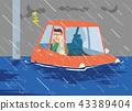 รถ _ จมอยู่ใต้น้ำ 43389404