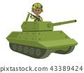 坦克 自卫队 士兵 43389424