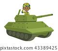 坦克 自卫队 士兵 43389425