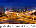 Shanghai elevated road junction and interchange 43390246