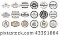 Vintage Retro Vector Logo for banner 43391864