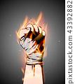 hand,bandage,arm 43392882