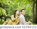 한국인, 커플, 데이트 43394132