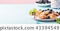 Dutch mini pancakes 43394549