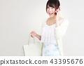 购物女性 43395676