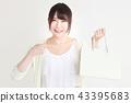 购物女性 43395683