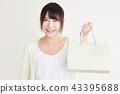购物女性 43395688