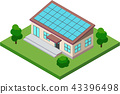 Solar power generation / house 43396498
