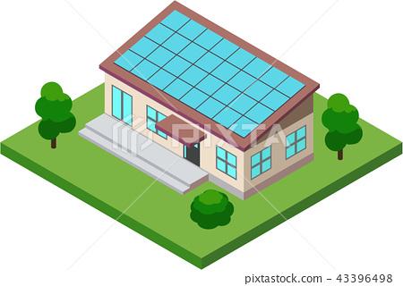 太陽能發電/房屋 43396498