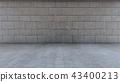Interior Background 3D rendering 43400213