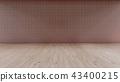 Interior Background 3D rendering 43400215